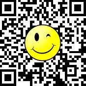 ロゴ付QRコード